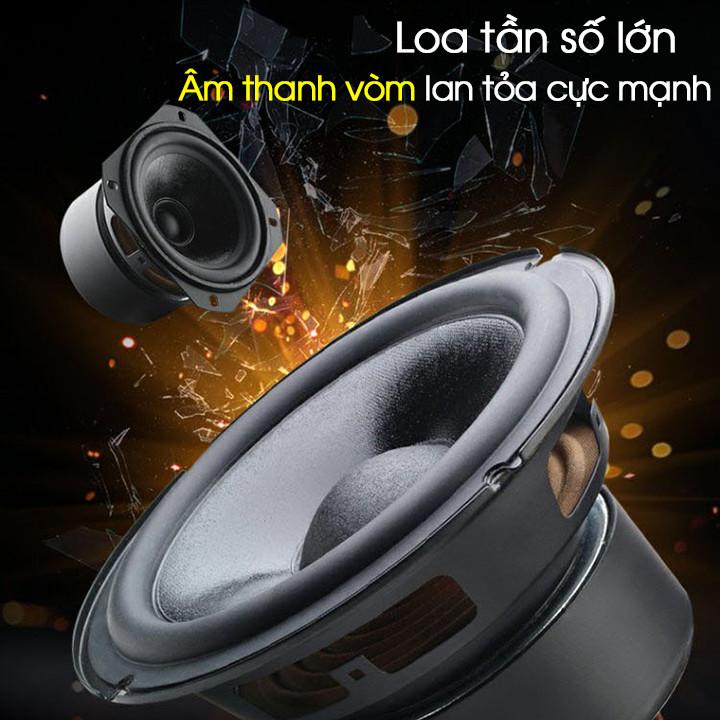 Loa bluetooth karaoke Daile S8 tặng 1 mic không dây (hàng nhập khẩu)