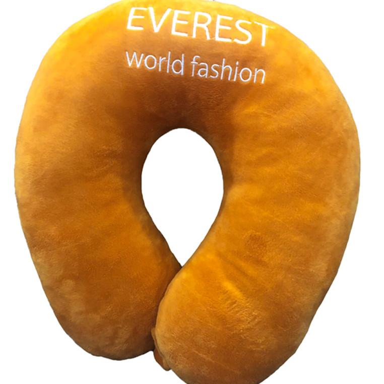 Gối kê cổ, gối chữ U Cam Everest - Cam - Free Size