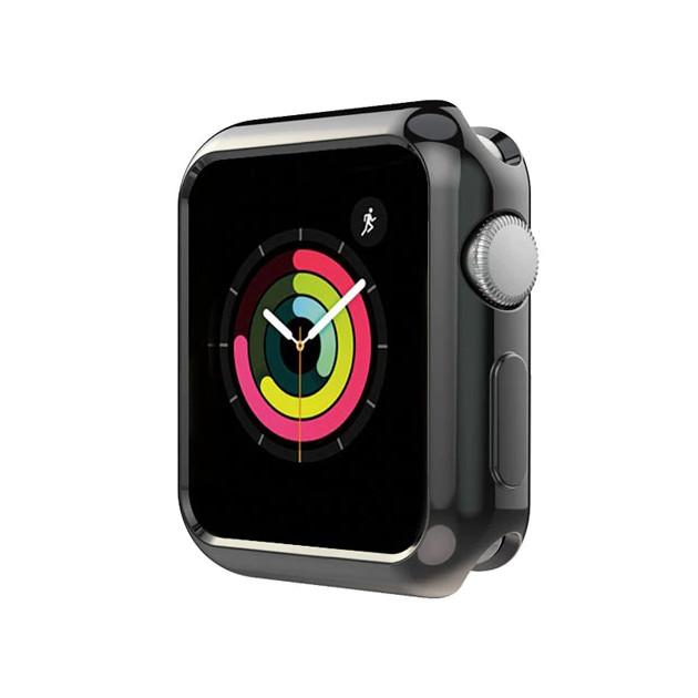 Case ốp bảo vệ silicon dẻo viền màu cho Apple Watch 40mm hiệu HOTCASE (chống va đập trầy xước, chống bụi, bảo vệ viền) - Hàng chính hãng