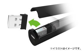 822cd5801e5dbd8ec9d0a5444d3a890f Bút trình chiếu đèn xanh ELECOM ELP-GL10P