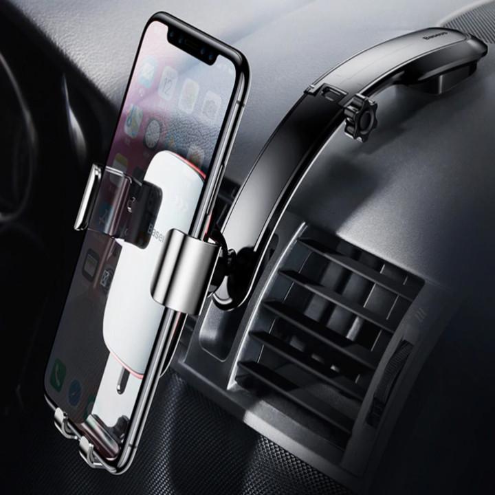Gía đỡ điện thoại gắn taplo, mặt kính trên ô tô nhãn hiệu Baseus SUYL-F01 - HÀNG CHÍNH HÃNG