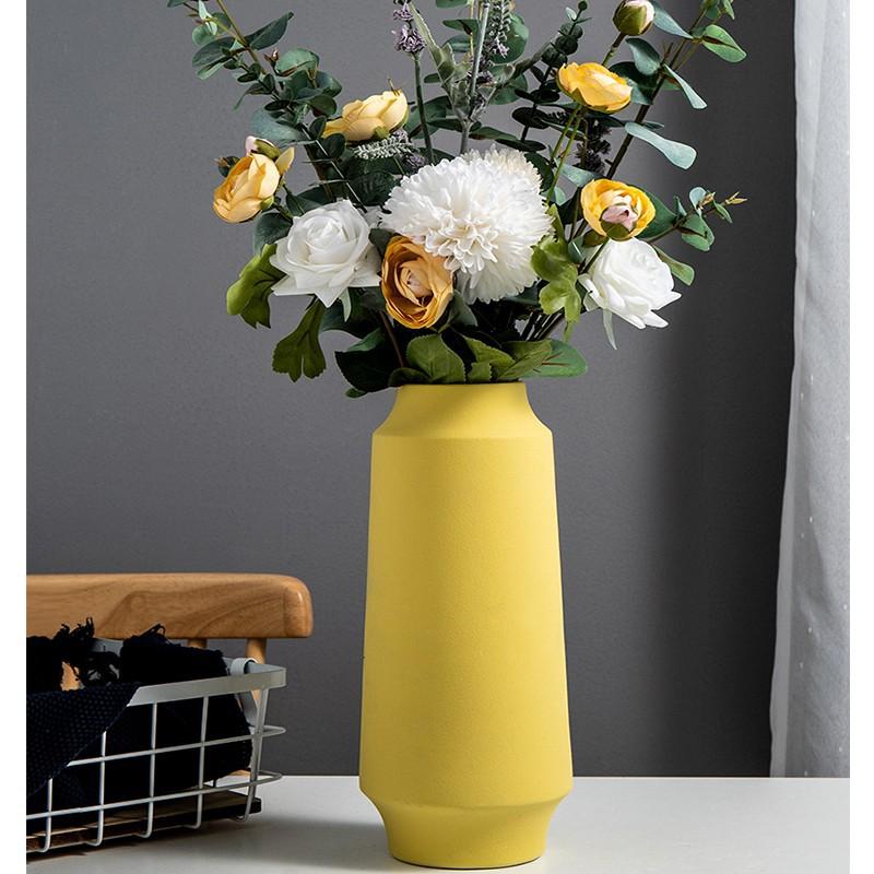 Bình Hoa Gốm Trang Trí