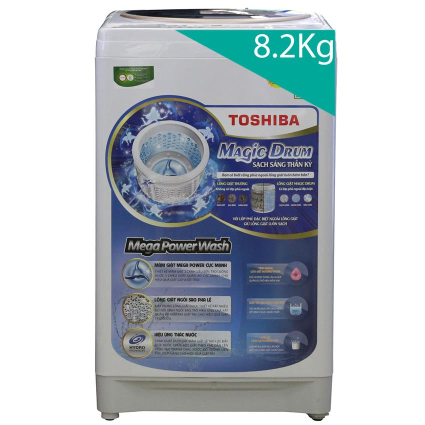 Máy giặt Toshiba 8.2 kg AW-F920LV WB - Hàng Chính Hãng
