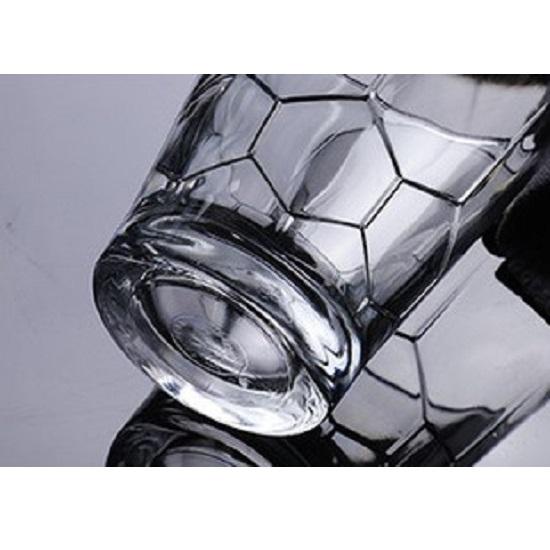 Bộ 6 ly thuỷ tinh cường lực Pháp Duralex Hexagone trong Clear 350ml