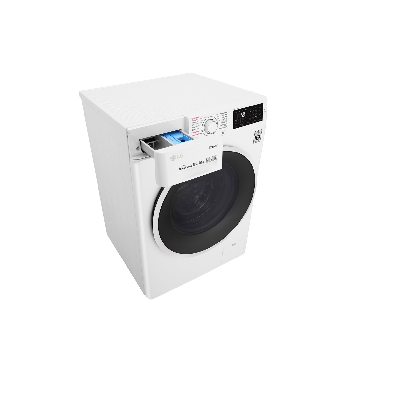 Máy Giặt Sấy LG Inverter 8 kg FC1408D4W - Hàng Chính Hãng