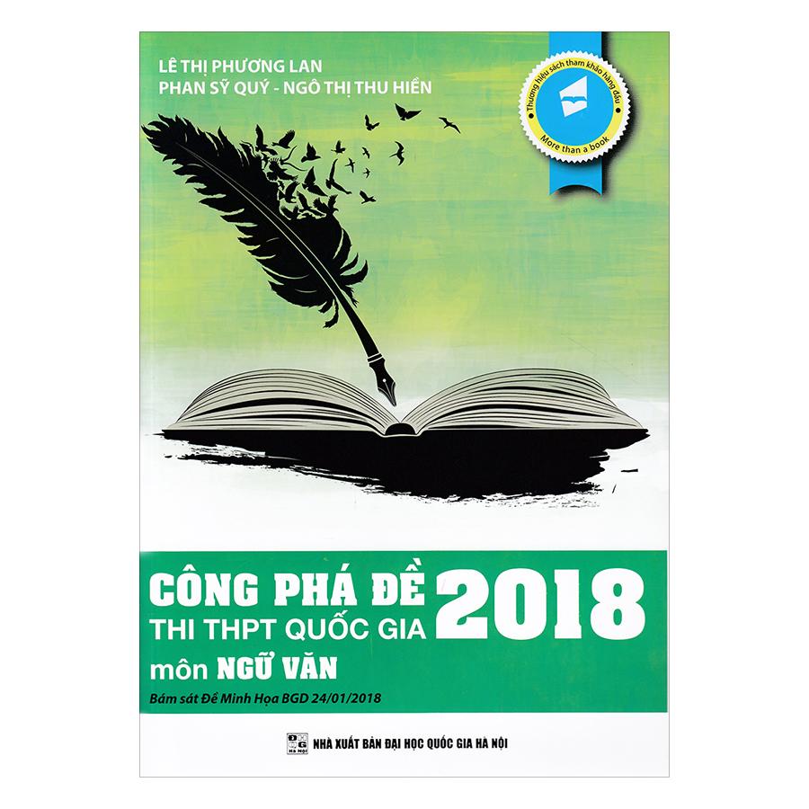 Công Phá Đề Thi THPT Quốc Gia 2018 Môn Ngữ Văn