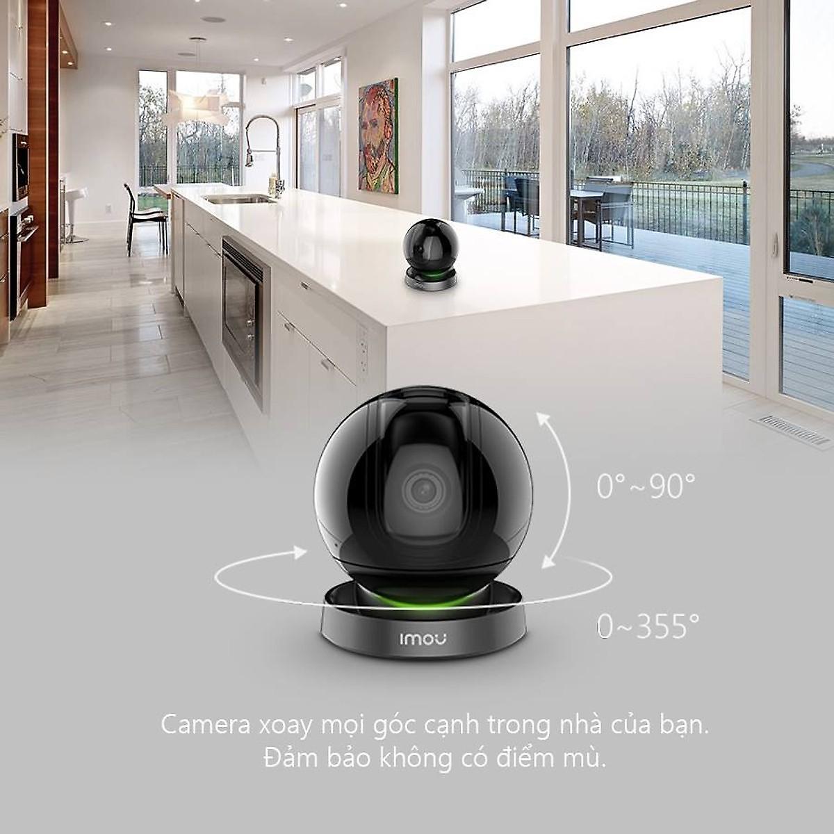 Bộ sản phẩm Camera IP Dahua Ranger Pro Ipc-A26hp Imou 2.0mpx và Thẻ Nhớ Hikvision 32Gb - Hàng Chính Hãng