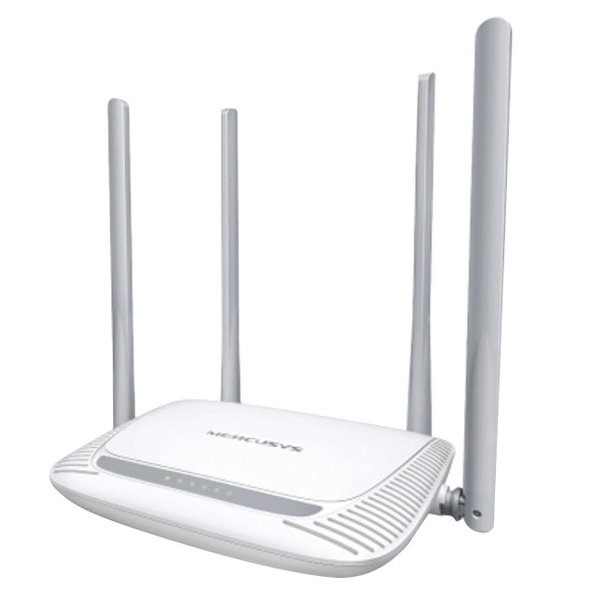 Bộ Phát Wifi (Router Wifi) Mercusys MW325R 300Mbps (Wifi 4 Ăng ten - 4 cổng ) - Hàng Chính Hãng