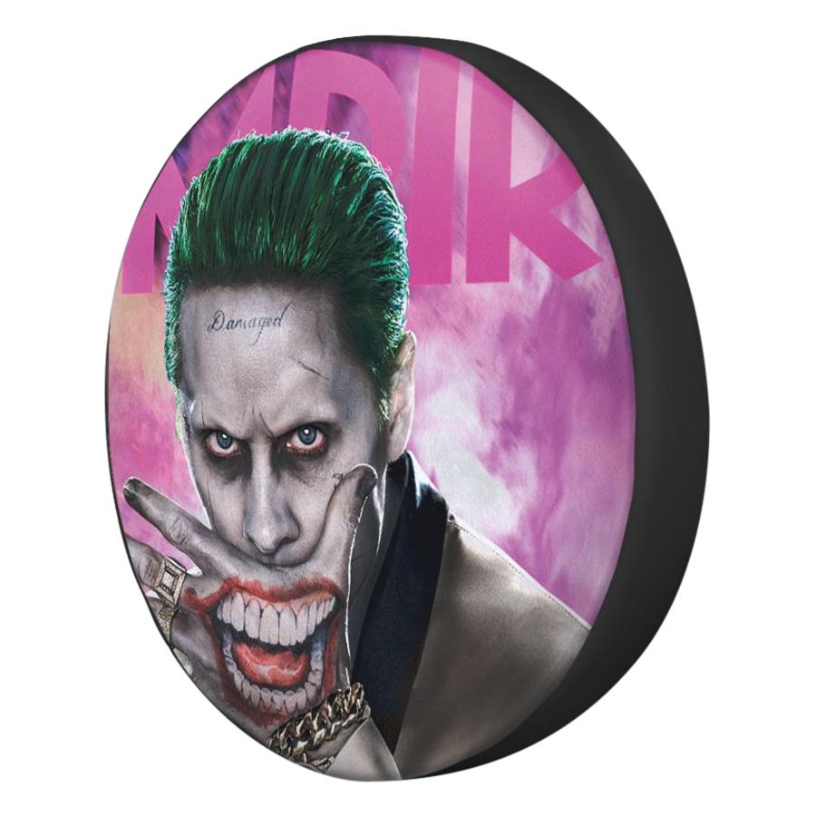 Gối Ôm Tròn In Hình Joker Che Miệng - GOFF324