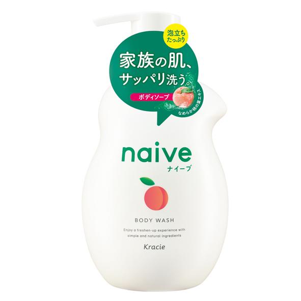 Sữa Tắm Lá Đào Naïve 530ml