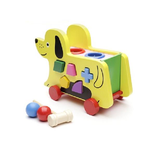 Xe thả hình chó kéo đa năng GCB xe13