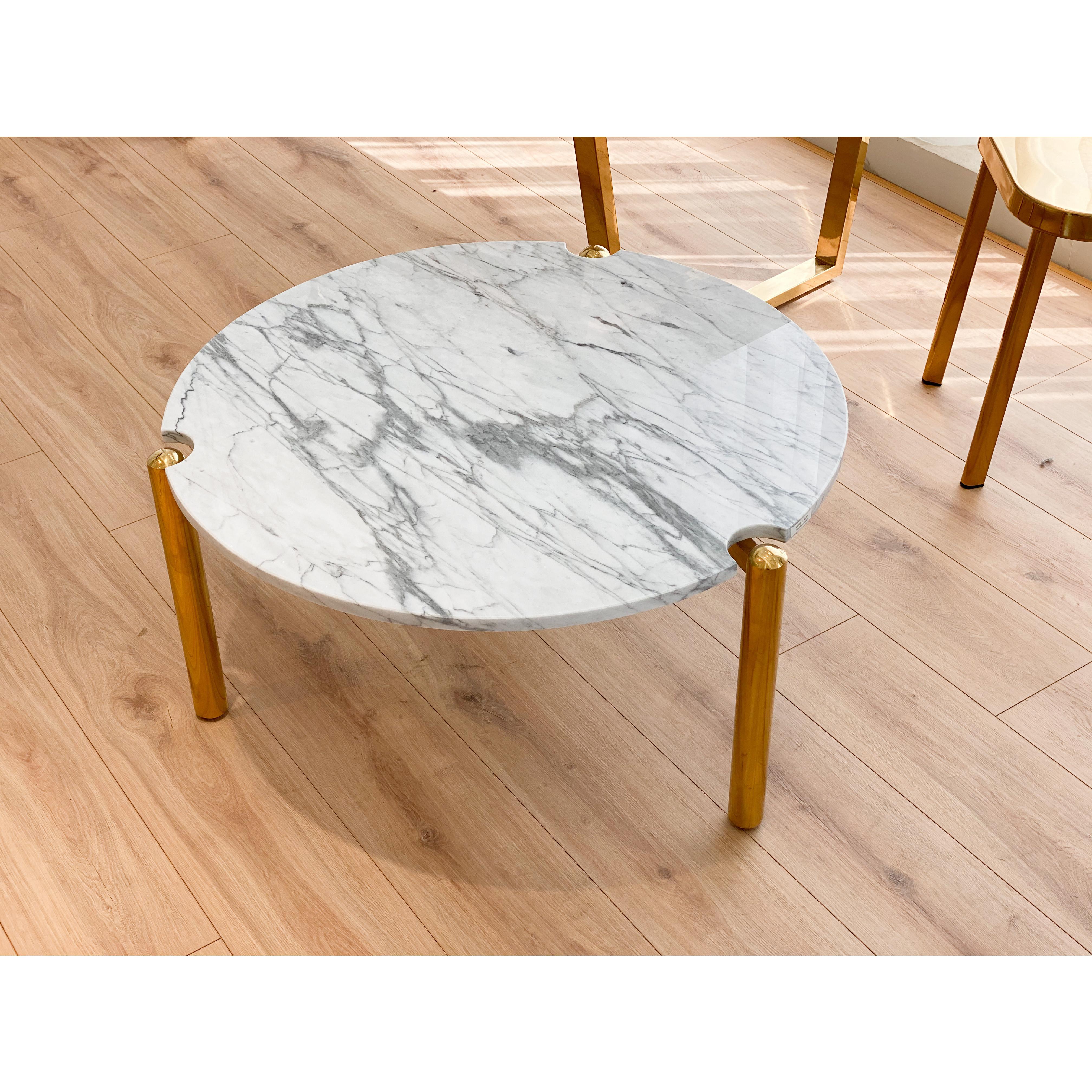 Bàn Sofa đá Marble
