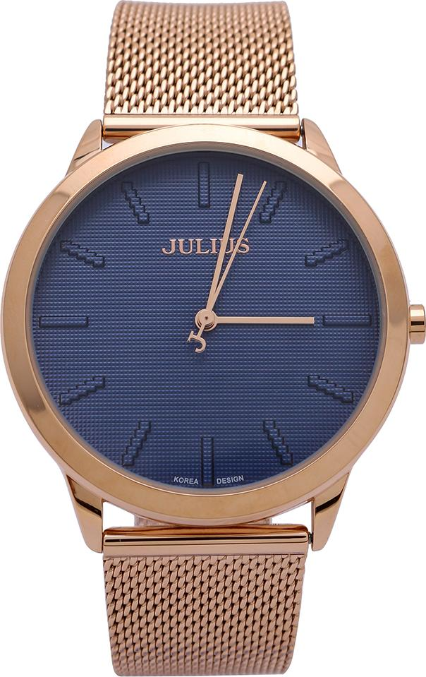 Đồng hồ Nam Julius Ju1231 Đồng mặt xanh