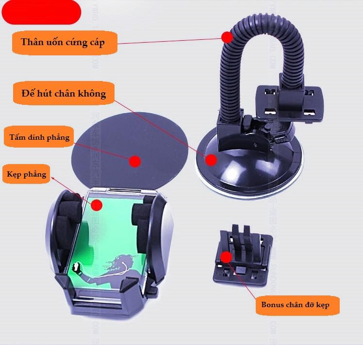 Giá đỡ điện thoại trên ô tô V3