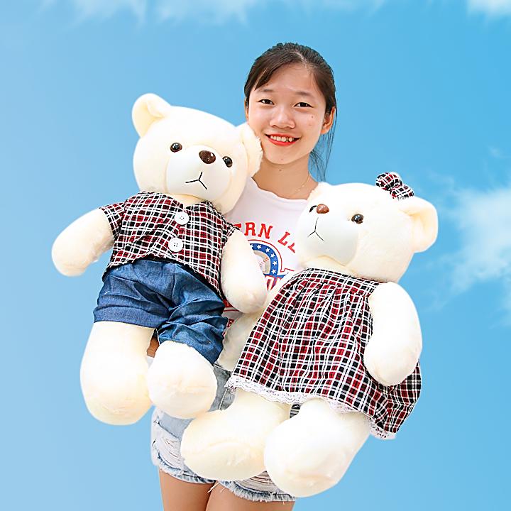 Gấu đôi tình nhân dễ thương 70cm