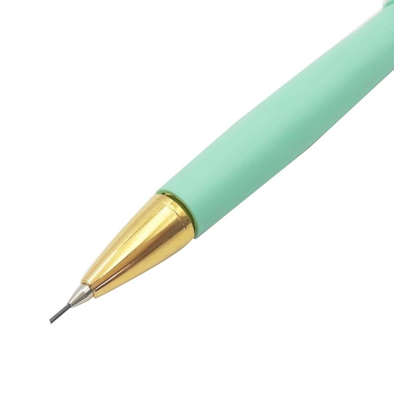 Bút Chì Bấm Cao Cấp 0.5mm FOLIO SC-01 - Xanh Ngọc