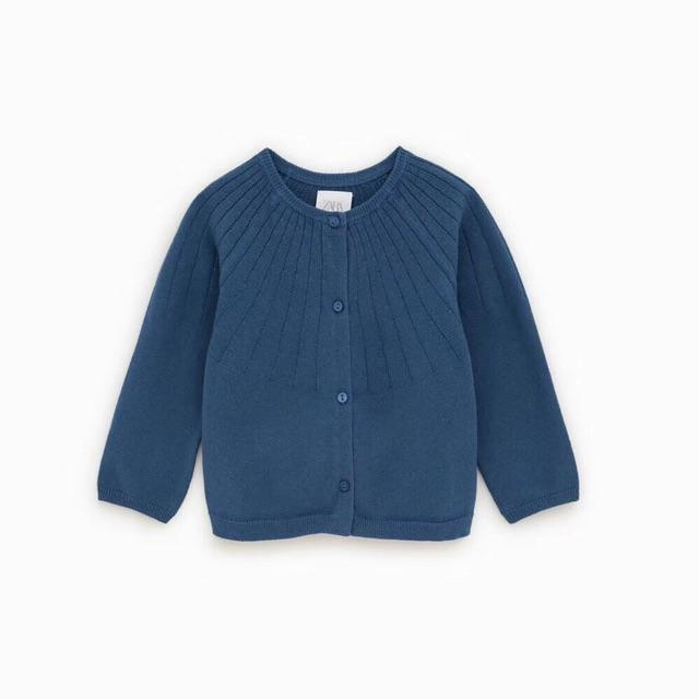 Áo len cardigan bé gái 1-6Y