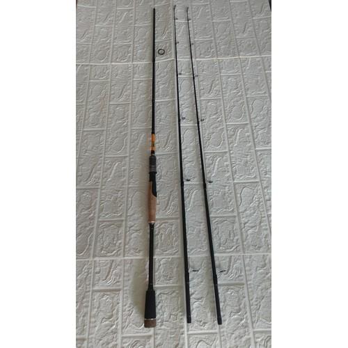 Cần câu Lure 2 ngọn Eagle Super tùy chọn 1m8 2m1 2m4 chuyên lure cá chuối,cá lóc,chẽm,câu lăng xê