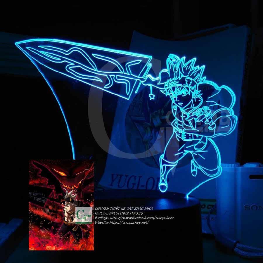 Đèn Ngủ Black Clover Asta Type 01