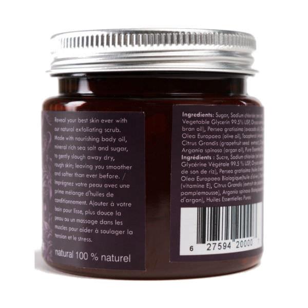 Gel Tẩy Tế Bào Chết Lavender Harvest  Natural Exfoliating Sugar Scrub Scentuals (125g)