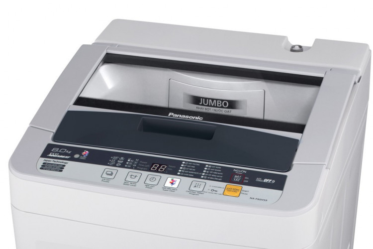 Máy giặt lồng đứng Panasonic NA-F80VG9HRV 2