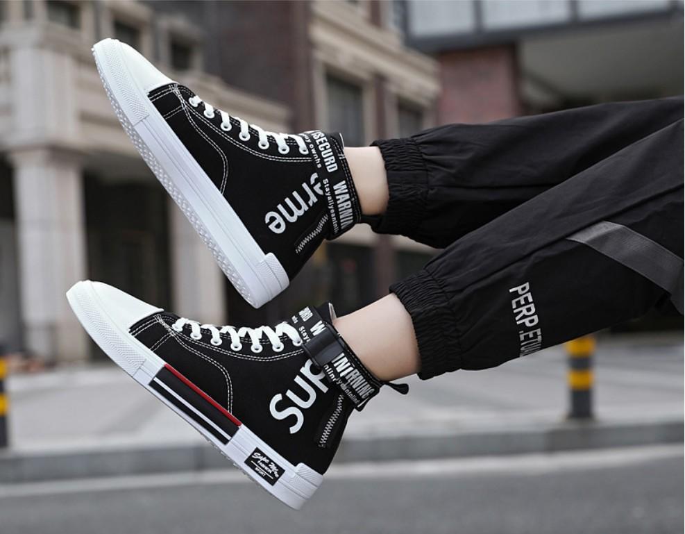 Giày cao cổ nam cao cấp SP-309, (giày bốt nam)