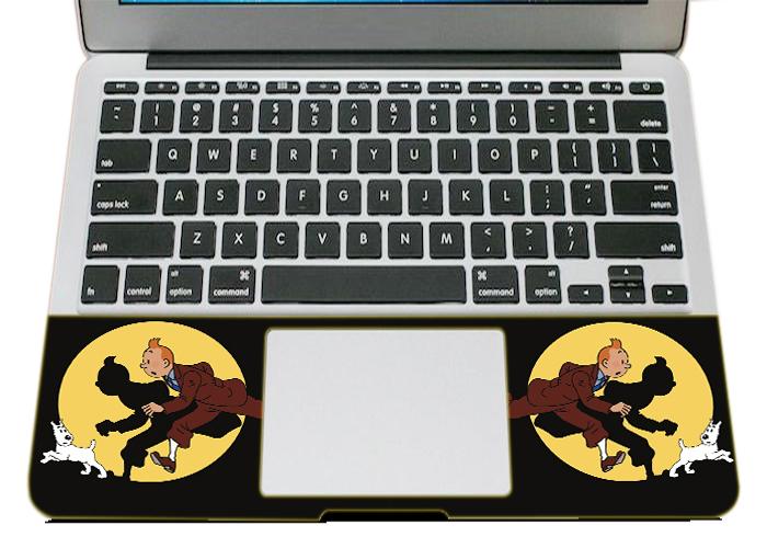 Mẫu Dán Skin Trang Trí Mặt Ngoài + Lót Tay Laptop Logo LTLG - 353
