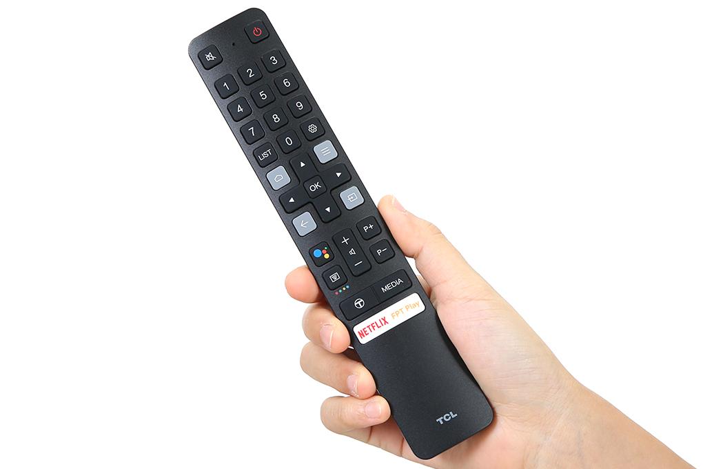55'' 4K UHD Android 11 Tivi TCL 50P725 - Gam Màu Rộng , HDR , Dolby Audio - HÀNG CHÍNH HÃNG