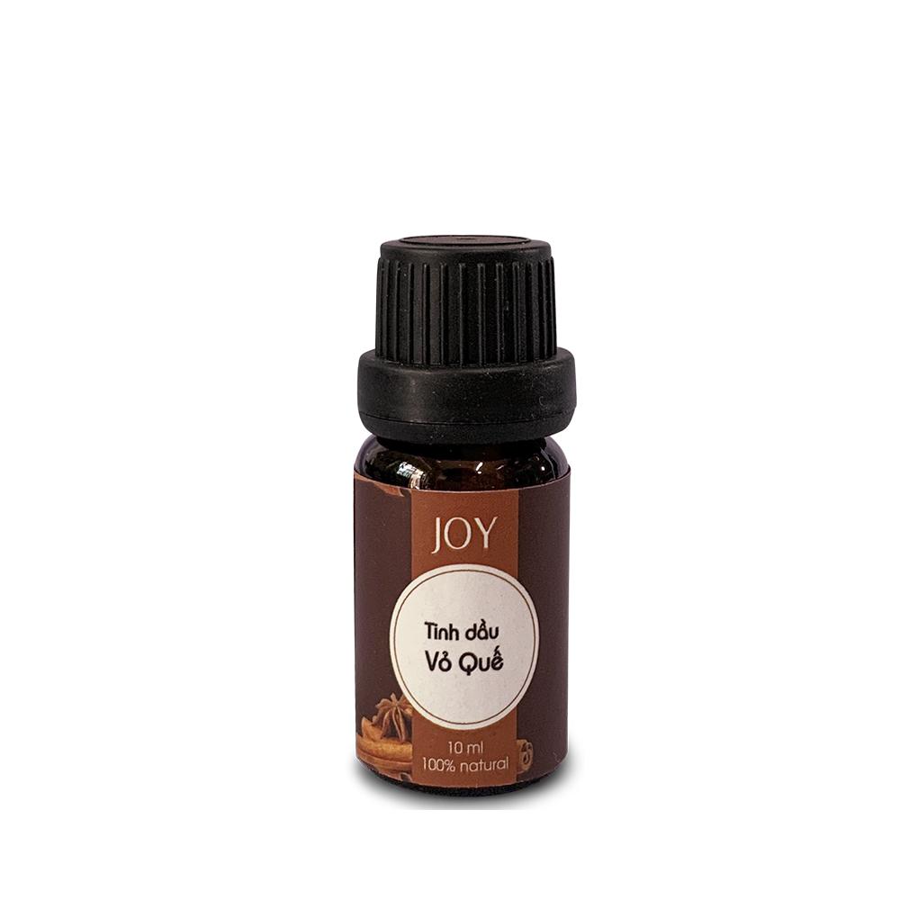 Tinh Dầu Quế Nguyên Chất Joy 10ml Xông Phòng - Thư Giãn Dễ Chịu - Nâng Cao Logic - Khử Mùi Khó Chịu - Giảm Say Xe