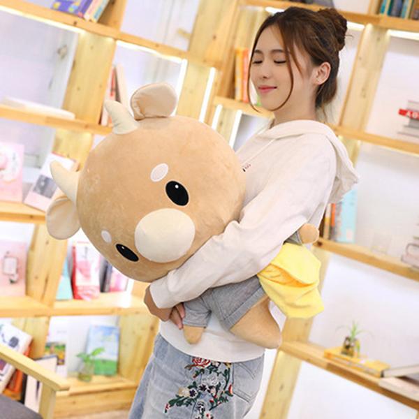 Gấu Bông Bò Chăm Chỉ (45 Cm) Gb02