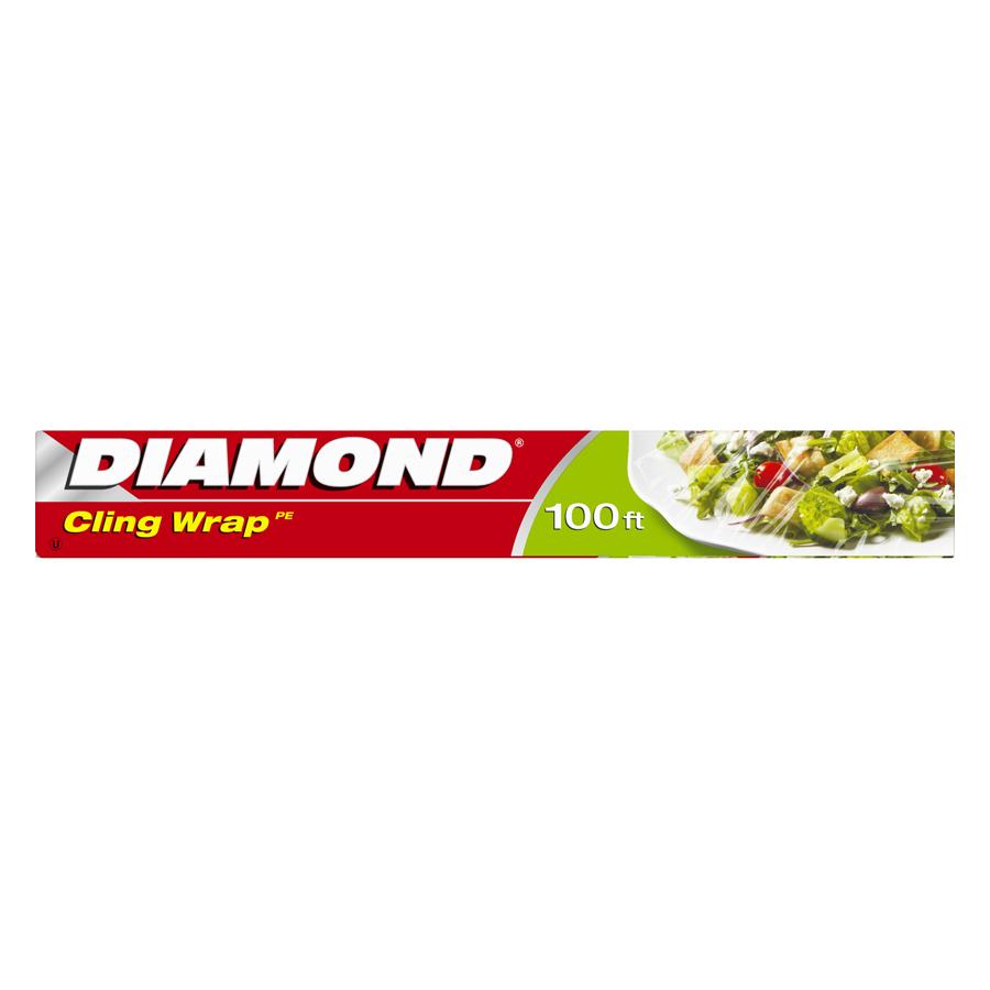 Combo 2 Hộp Màng Bọc Thực Phẩm Diamond (0.3 x 30 m)