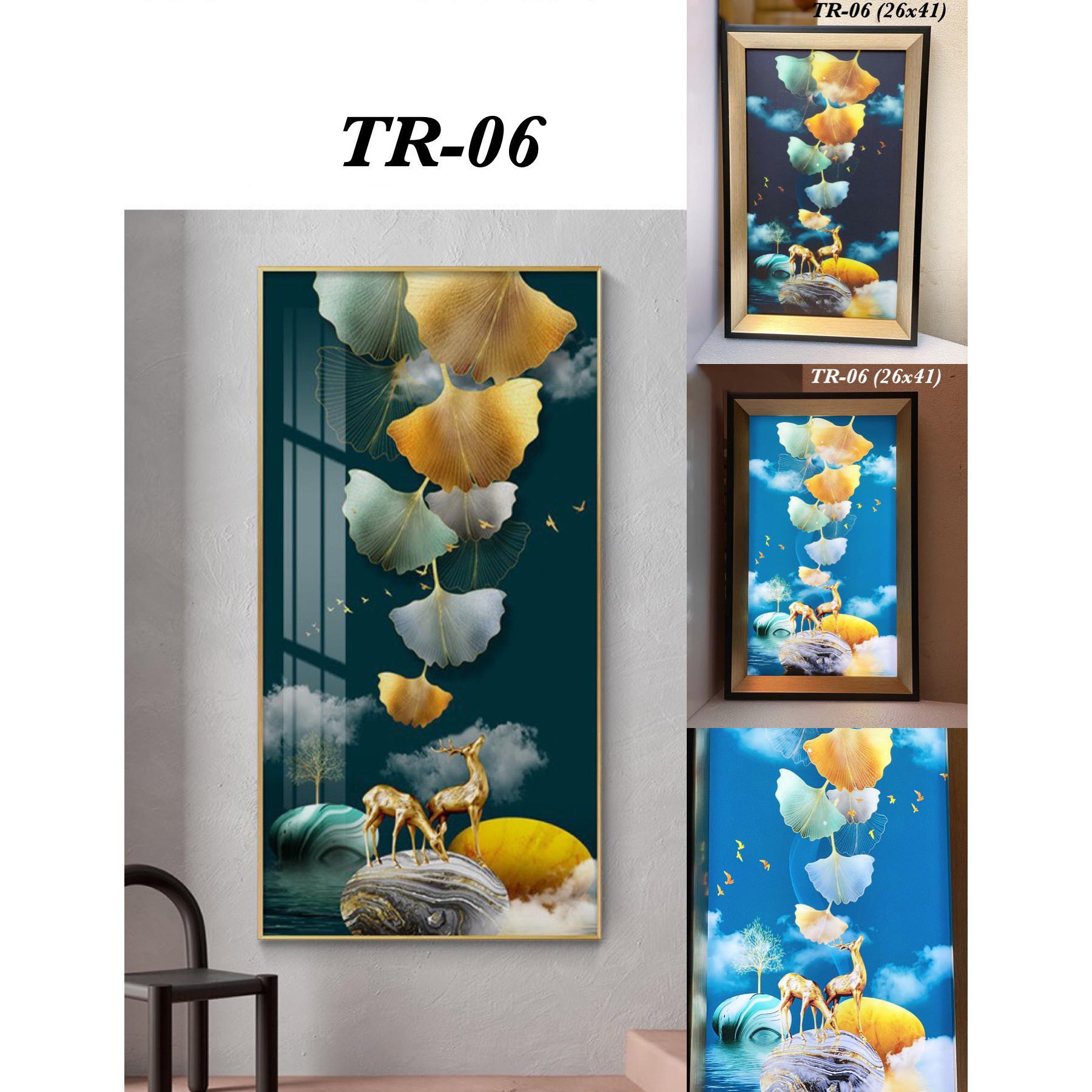 Tranh đèn LED nghệ thuật TR-06 kiểu dáng sang trọng tinh tế - 3 chế độ ánh sáng.