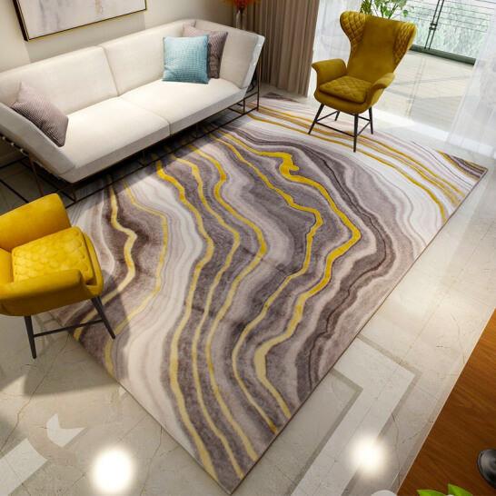 Thảm Trang Trí Phòng Khách Và Sofa Lông Ngắn ND007 - Nordic (160 x 230 cm)