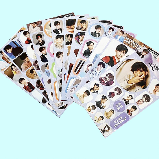 Set sticker 12 in ảnh Tfboys