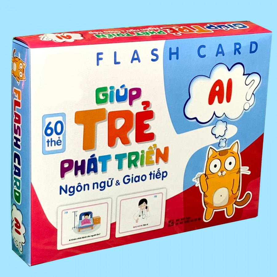 Bộ 60 Thẻ Học Flashcard Giúp Bé Tăng Khả Năng Giao Tiếp Và Mở Rộng Vốn Từ