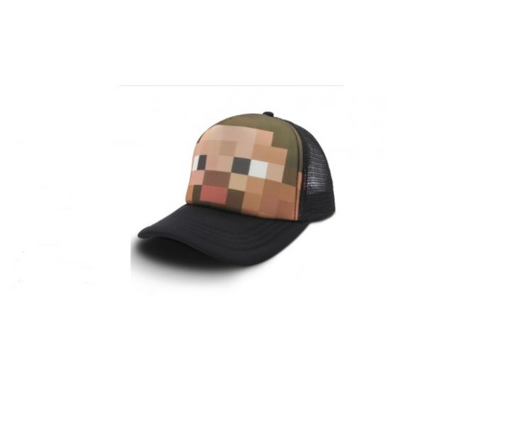 Mũ Minecraft hình Steve