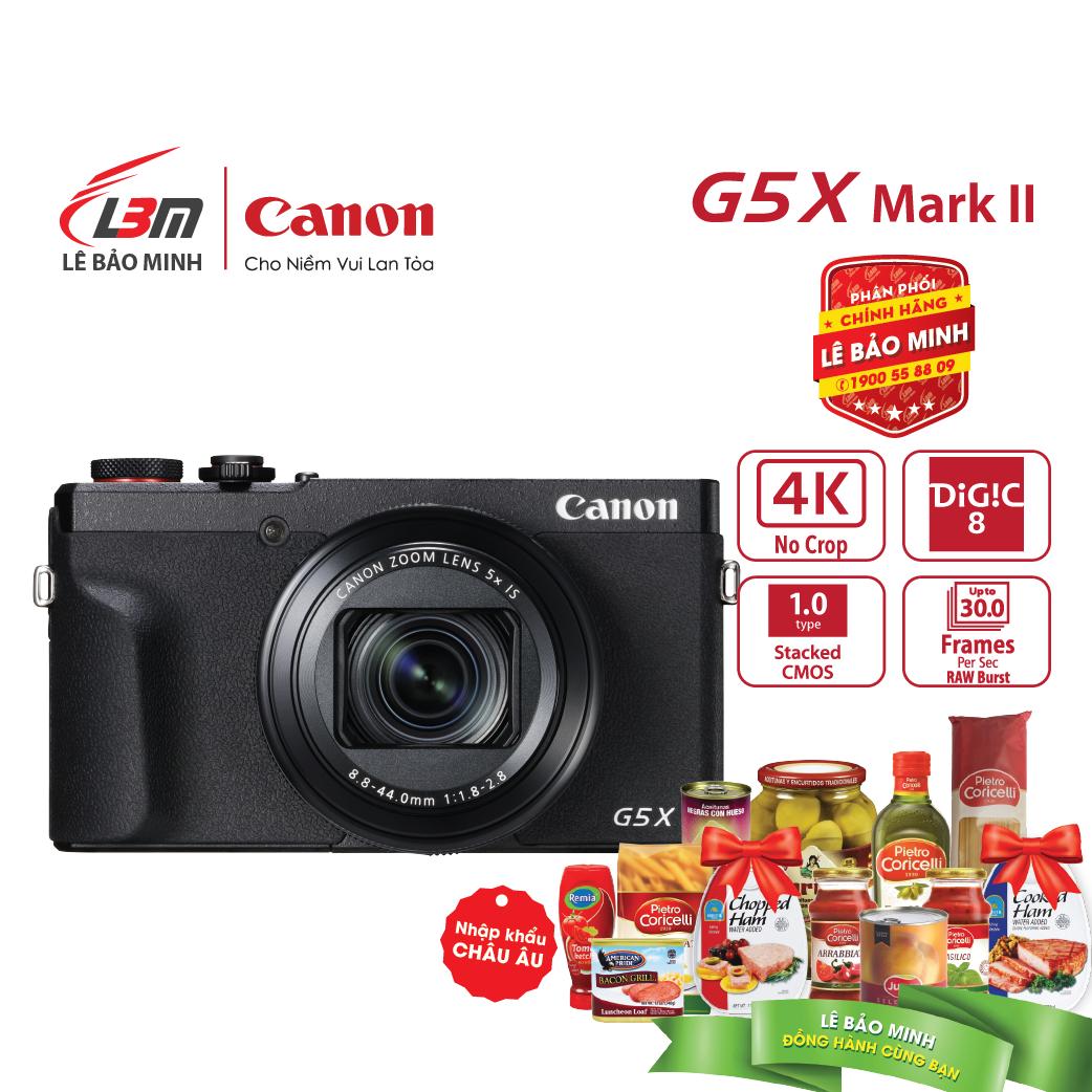 Máy ảnh Canon Powershot G5X MARK II - Hàng Chính Hãng LBM