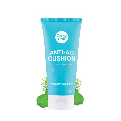 Sữa rửa mặt tạo bọt ngăn ngừa mụn Cathy Doll Anti-Acne Cushion Facial Foam Cleanser 120ml