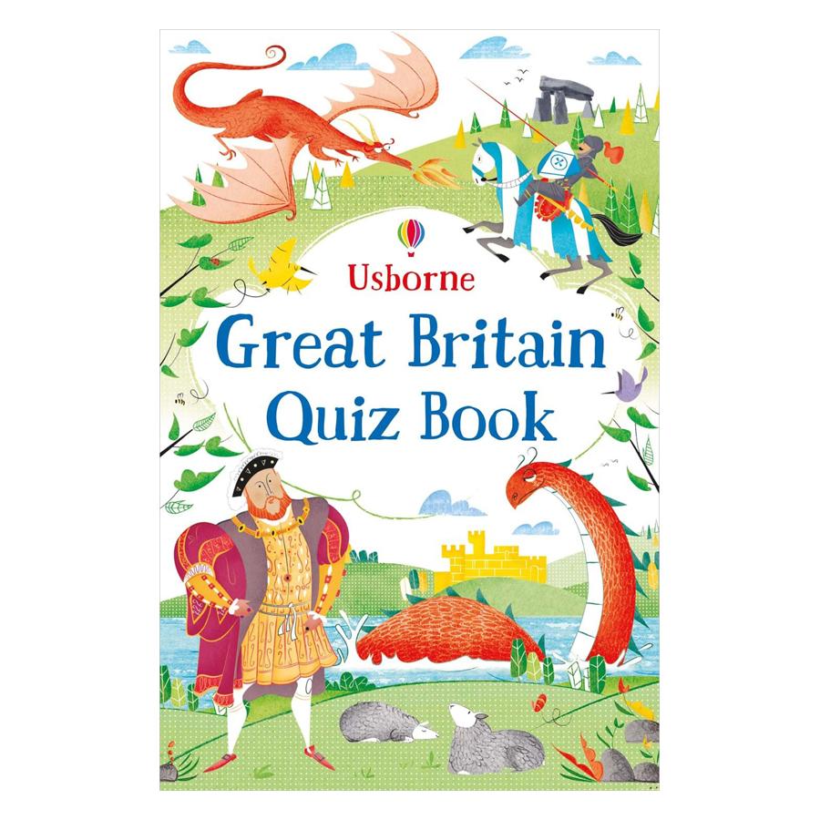 Usborne Great Britain Quiz Book