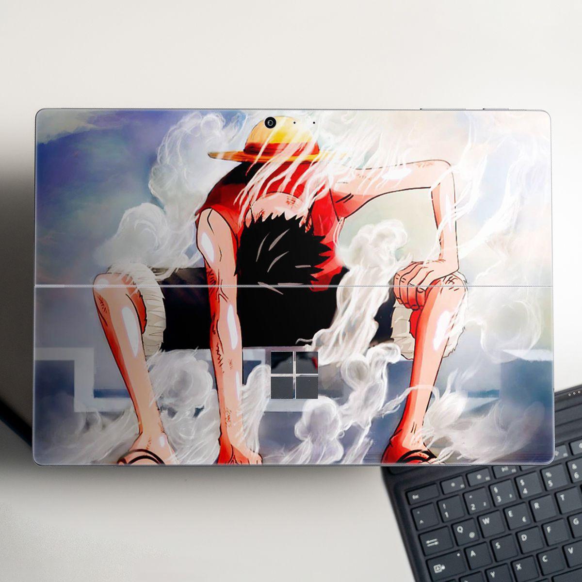 Skin dán hình One Piece x13 cho Surface Go, Pro 2, Pro 3, Pro 4, Pro 5, Pro 6, Pro 7, Pro X