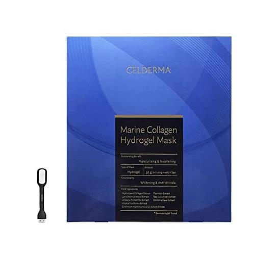 Mặt Nạ Celderma Marine Collagen Hydrogen Mask 90g hộp 3 miếng