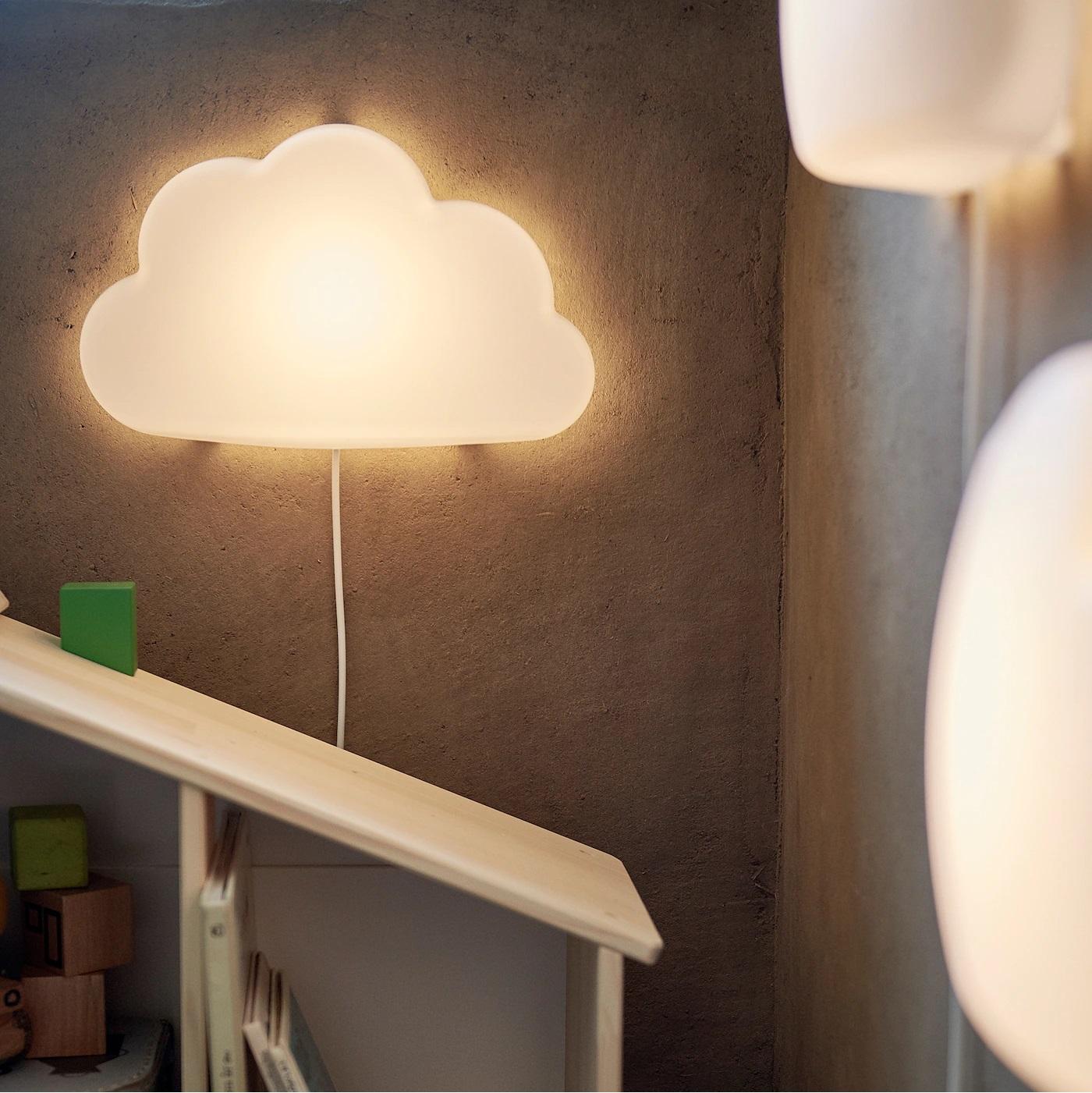 Đèn ngủ đám mây trắng UPPLYST - đèn ngủ cho bé