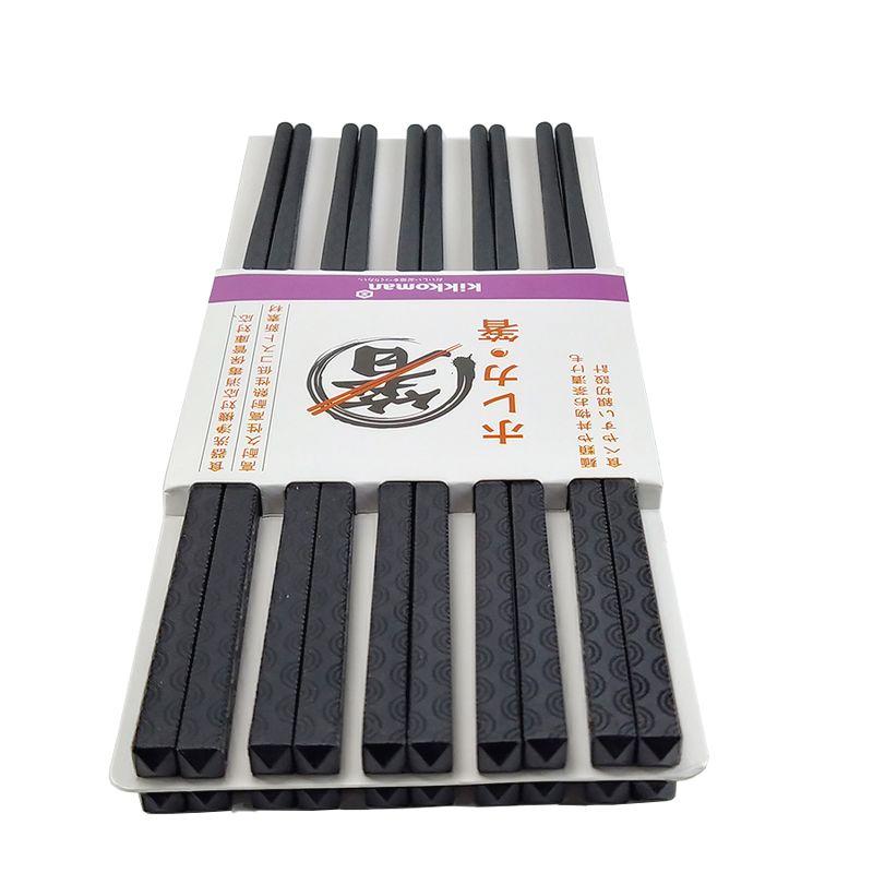 Bộ 10 đôi đũa Nhật sang trọng, tinh tế, chống trơn trượt GS00832