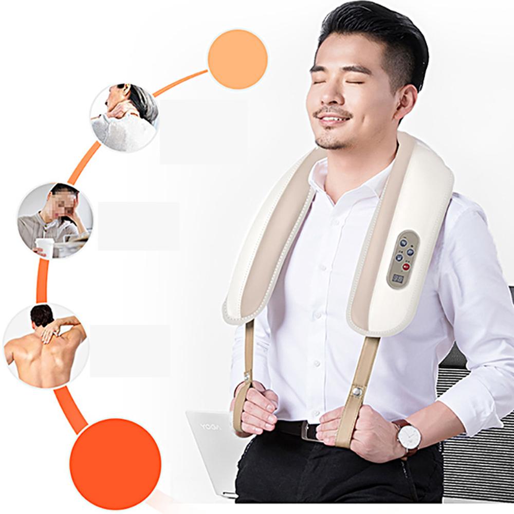 Máy Massage Toàn Thân MZ-P666 Giả Tỏa Và Cải Thiện Các Cơn Đau Mỏi Vùng Cổ, Vai, Gáy, Lưng Hiêu Quả ( Giao Màu Ngẫu Nhiên )