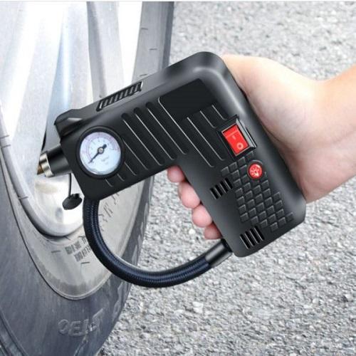 Máy bơm lốp xe ô tô YX301 (Hàng Cao Cấp), bơm lốp ô tô đa năng, bơm hơi, đo áp suất lốp, búa an toàn, đèn báo khẩn cấp