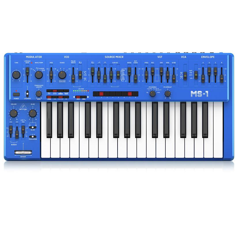 Behringer MS-1-BU Analog Synthesizer in Blue-Hàng Chính Hãng