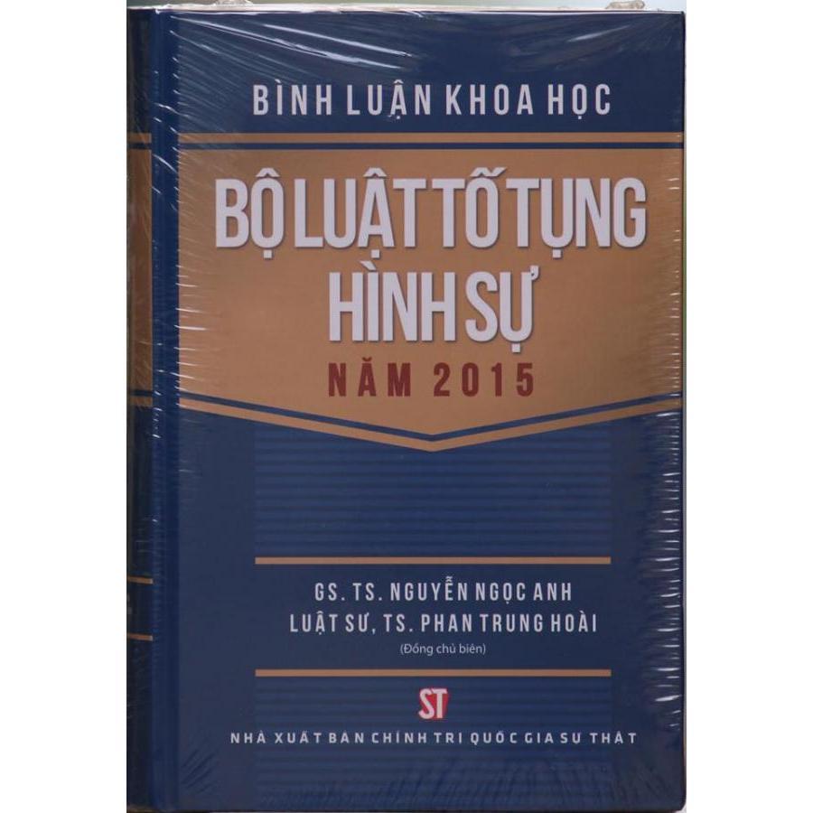 Bình luận bộ luật tố tụng hình sự 2015
