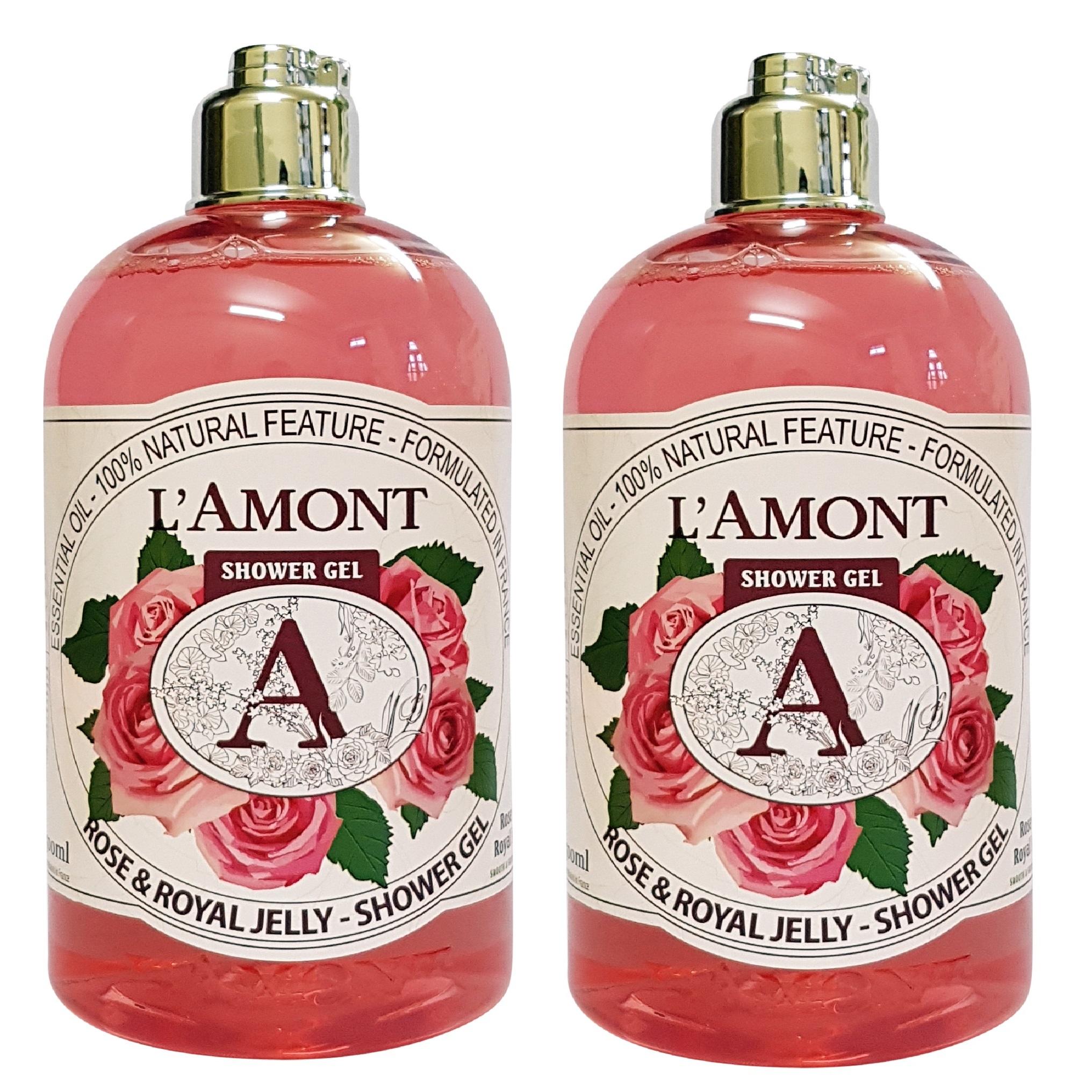 Combo 2 Sữa Tắm Rose 500ml- L'amont En Provence
