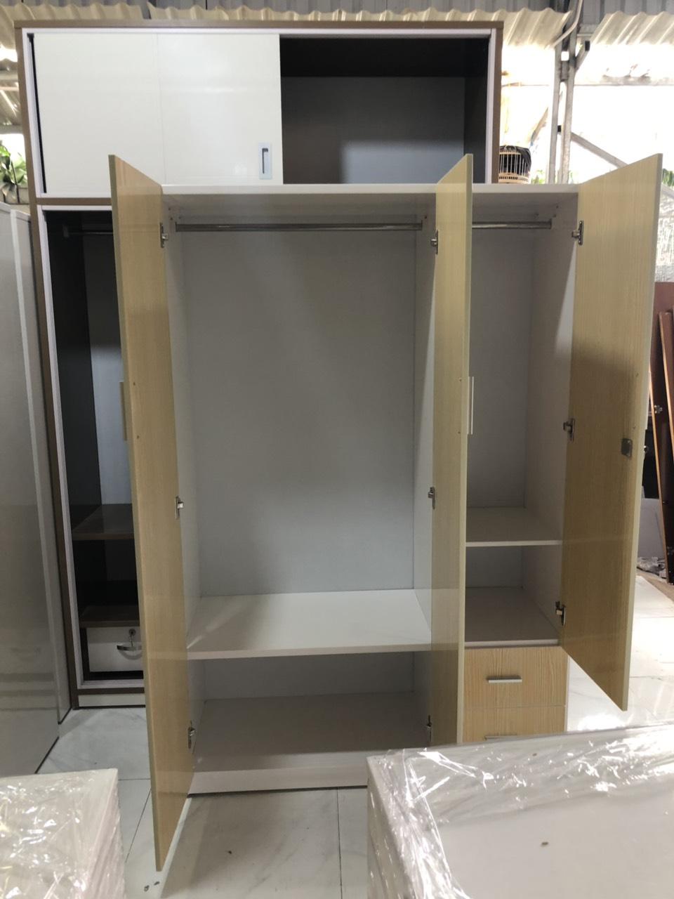 Tủ áo chất lượng bằng nhựa tốt 1m2 x 1m8 x 48 cm