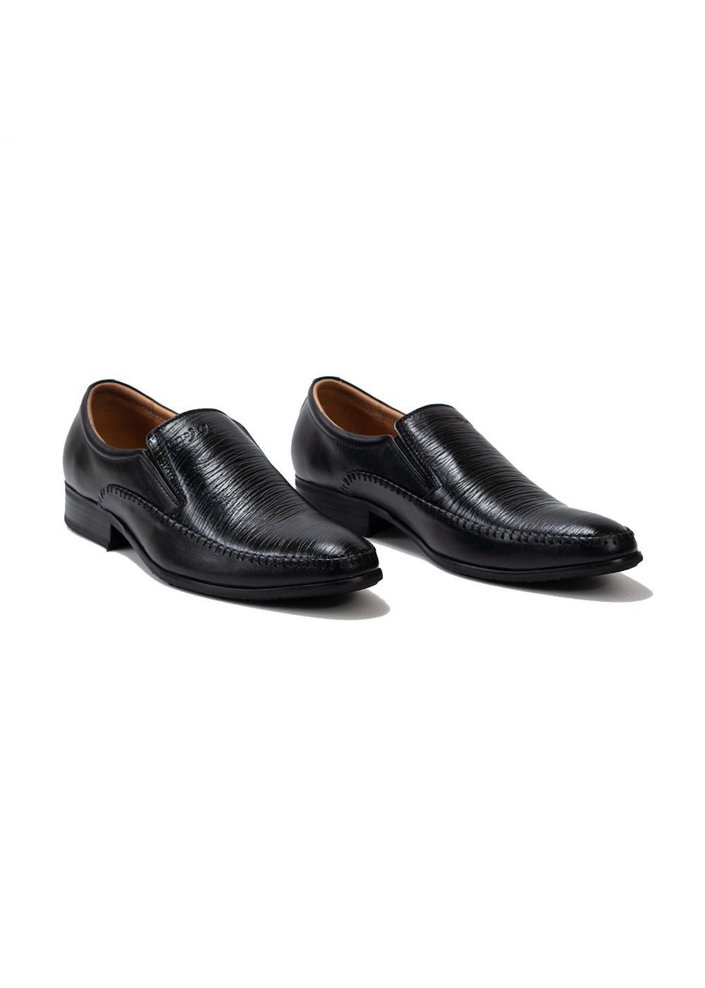 Giày Tây Mọi Đế Pháp - Da Nhăn